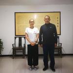 Ши Янжень (Анна Комиссарова) с мастером Ху Чженшенем